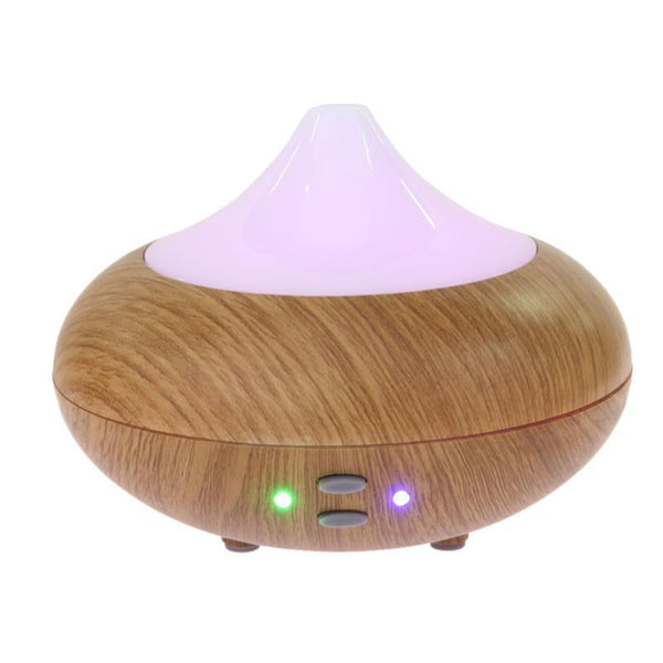 210ml Wood Grain USB Air Humidifier Mini Portable Electric Aroma Mist Maker - orian gifts