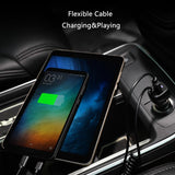 Car Charger with Micro USB Type C Cable Quick Fast Mobile Phone Charger - orian gifts