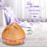 500ML Remote Control Air Humidifier Essential Oil Diffuser - orian gifts