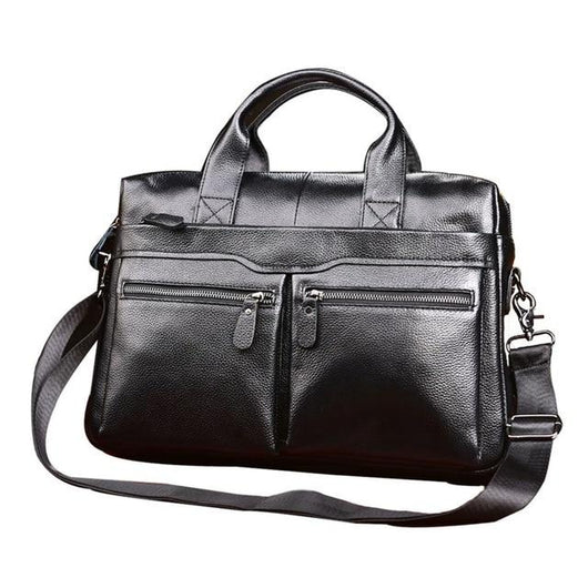 Genuine Leather Men Briefcases Laptop Casual Brand Designed Handbag Business Bags - orian gifts