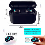 5.0 Bluetooth Earphones Wireless Headphones - orian gifts