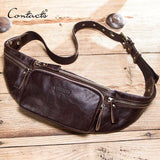 Cow Leather men waist bag - orian gifts