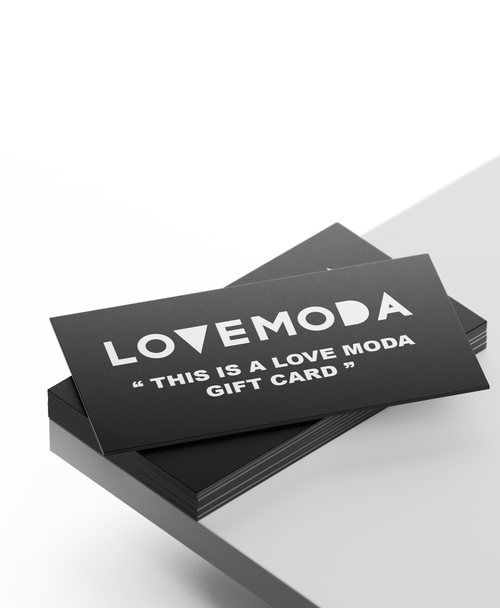 LOVEMODA GIFT CARD