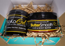 Butter Smooth and KoKo Styling Gel by Tukka Beauty