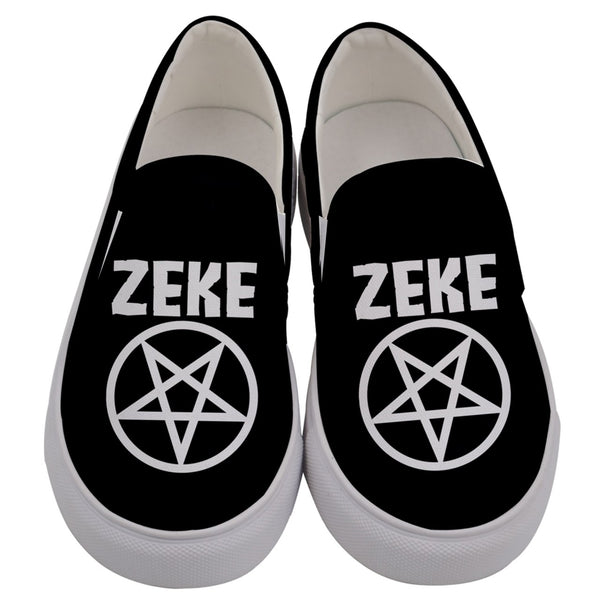 Zeke Pentagram Canvas Slip On