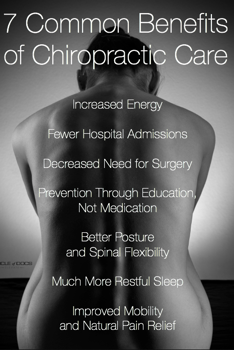 7 Common Benefits of Chirpractic Care