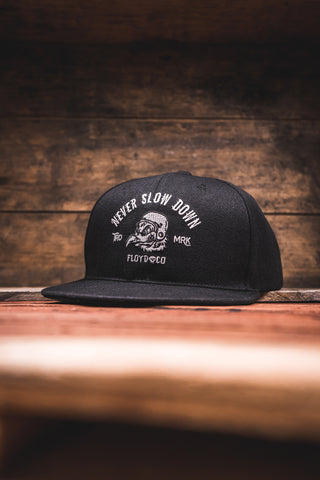 Never Slow Down Snapback (Black)