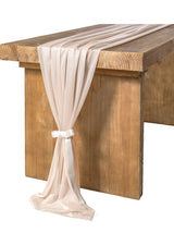 Nude Sheer Table Runner