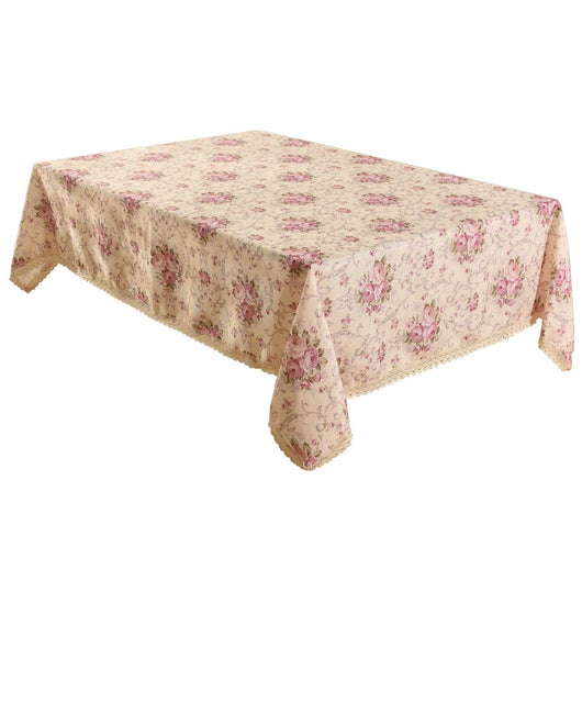 "55"" x 87"" Vintage Floral Rectangle Table Cloth"