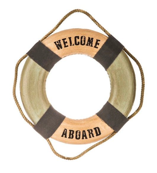 """Welcome Aboard"" Prop"