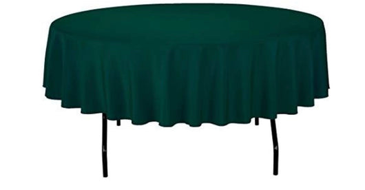 "90"" Hunter Green Table Drape"