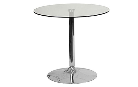 "31.5"" Glass Bistro Table"