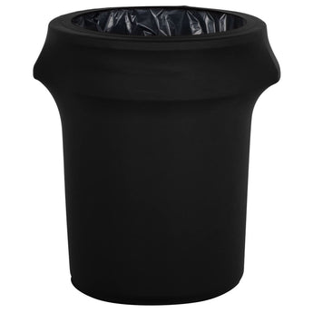 32 Gallon Black Spandex Trash Can Cover's