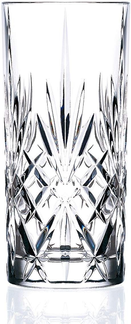 9oz Crystal Melodia High Ball Glass