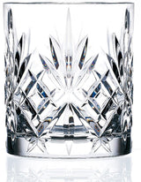 9oz Crystal Melodia Double Old Fashioned Glass