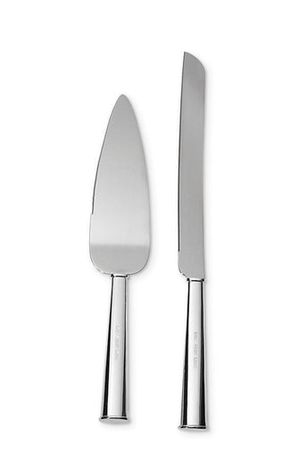 Kate Spade Silver Mr. & Mrs. Cake Cutting Set