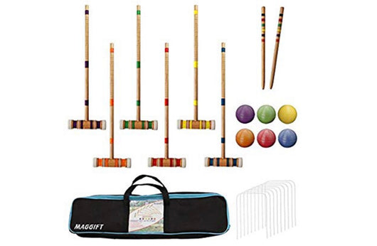 "6 Player 26"" Croquet Game"