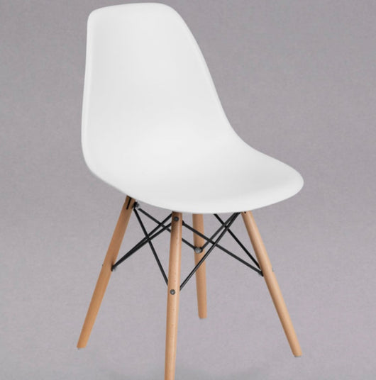 White Eames Chairs