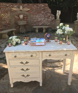 Cream French Provincial Desk