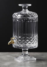 Mellie Glass Beverage Dispenser