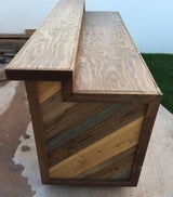 Chevron Wood Bar