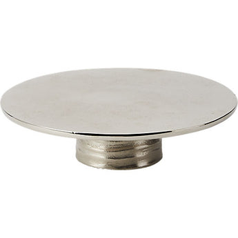 "Hive 8.5"" Silver Cake Stand"