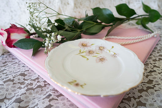 Mismatched Luncheon Plates