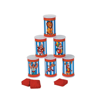 Circus Can Toss Game