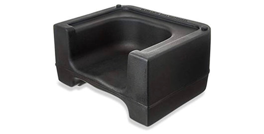 Black Plastic Booster Chair