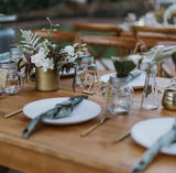 Sage Green Crushed Velvet Napkins