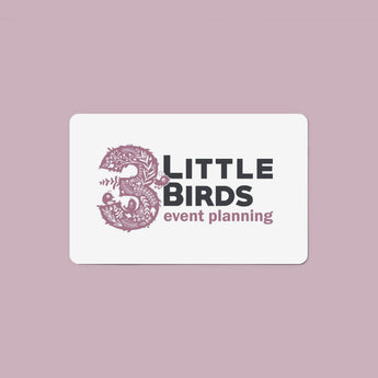 3 Little Birds Gift Card (Digital)