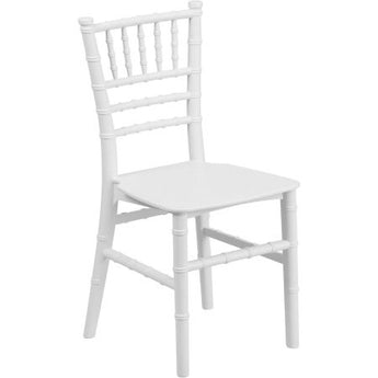 White Kids Chiavari Chairs