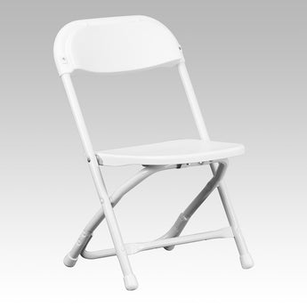 White Kids Samsonite Chairs