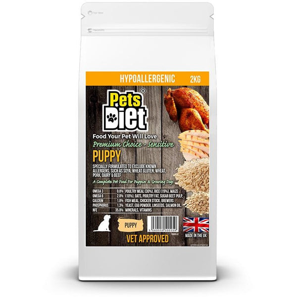 Pets Diet Puppy Food Various Bag Sizes, Puppy food, Pets Diet - Need Not Lift A Paw Limited