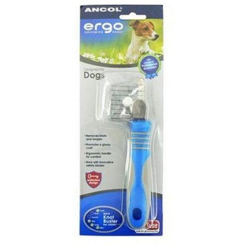 Ancol Ergo Deluxe Maxi Knot Buster, Dog comb, Ancol, Need Not Lift A Paw Limited
