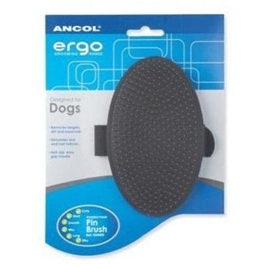 Ancol Ergo Flexible Palm Pin Brush, Dog brush, Ancol, Need Not Lift A Paw Limited