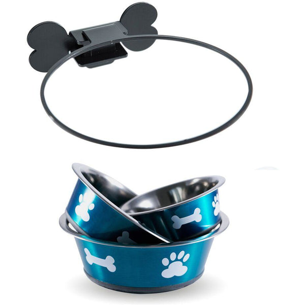 Wall Mounted Dog Bowl, Dog food bowl, BIGPAWS.CO - Need Not Lift A Paw Limited