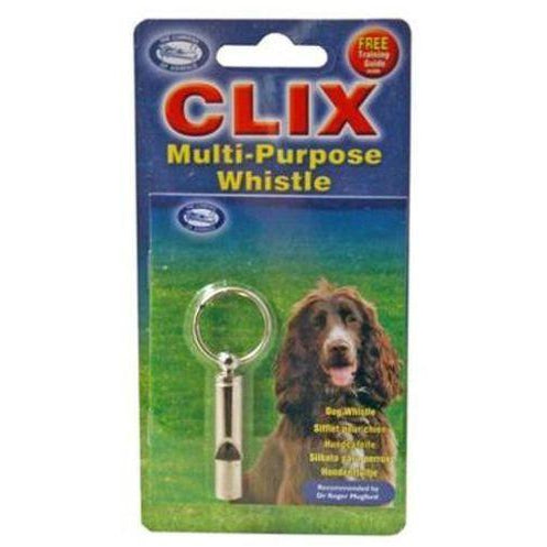 CLIX Multi-Purpose Whistle, Dog whistle, Co. Of Animals - Need Not Lift A Paw Limited