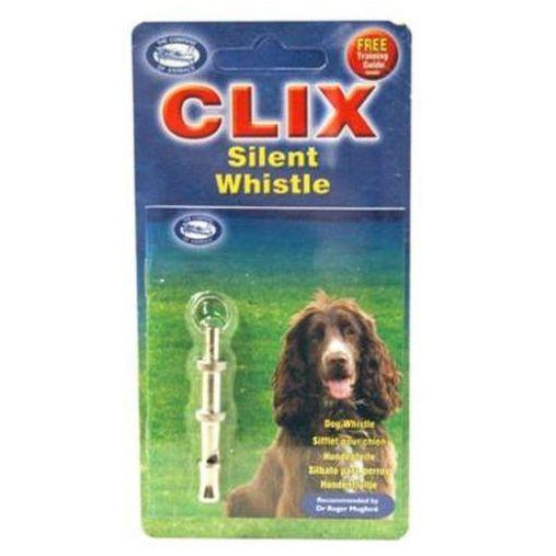 CLIX Silent Whistle, Dog whistle, Co. Of Animals - Need Not Lift A Paw Limited