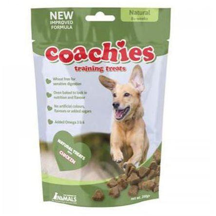 Coachies Naturals Training Treats 200g, Dog treat, Company Of Animals, Need Not Lift A Paw Limited