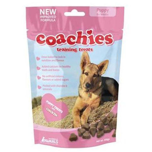 Puppy Coachies Training Treats 200g, Puppy treat, Co. Of Animals - Need Not Lift A Paw Limited