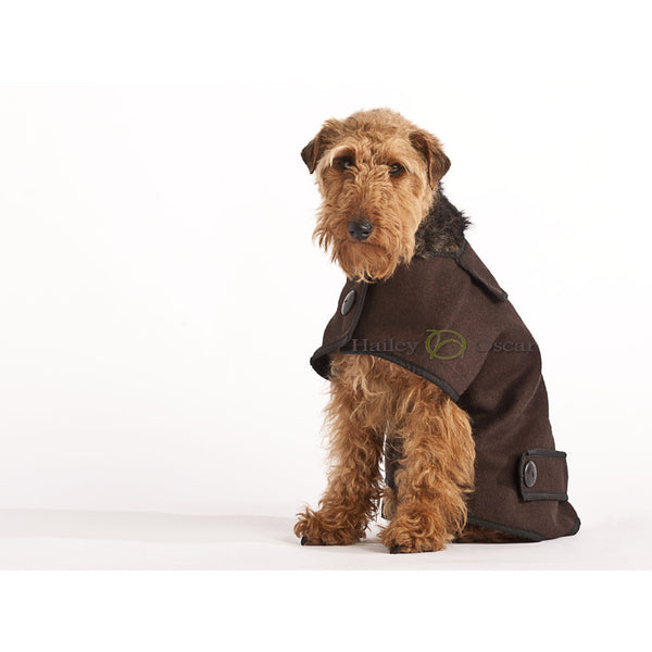 Hailey & Oscar Wool Casual Coat, Dog coat, Hailey & Oscar, Need Not Lift A Paw Limited