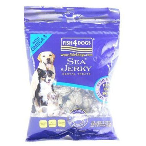 Fish4Dogs Sea Jerky Fish Bones 100g, Dog treat, Fish4Dogs, Need Not Lift A Paw Limited
