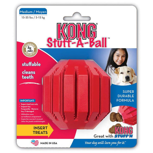 KONG Stuff-a-Ball Toy, Dog toy, KONG, Need Not Lift A Paw Limited