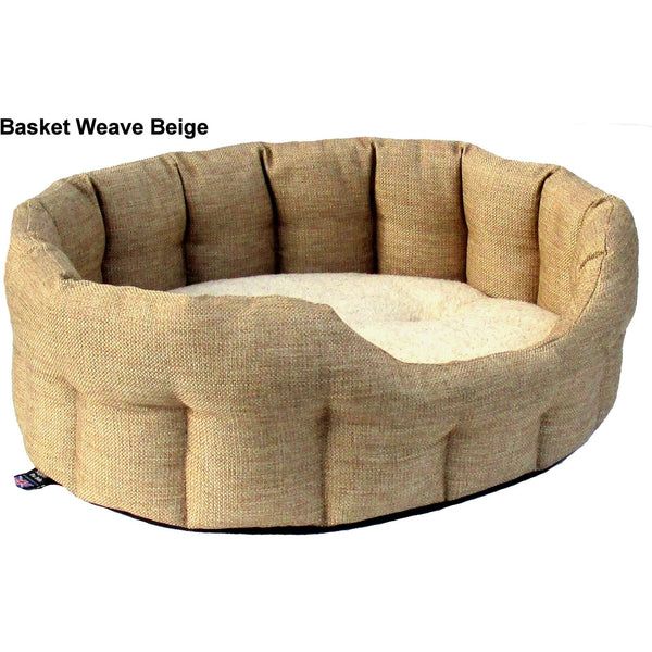 Premium Heavy Duty Drop Fronted Heavy Duty Material Oval Softee Dog Bed, Dog bed, Pets & Leisure, Need Not Lift A Paw Limited