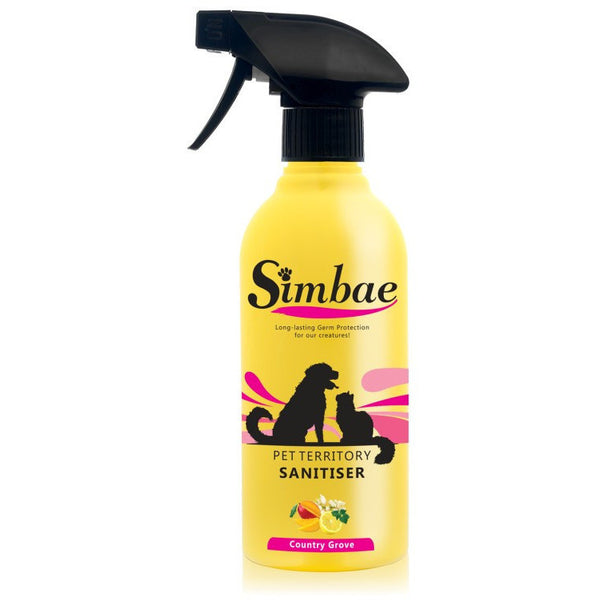 Simbae Pet Territory Sanitiser, Pet territory sanitiser, Simbae, Need Not Lift A Paw Limited