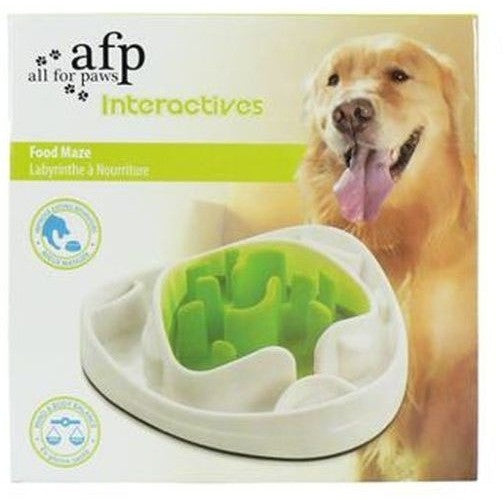 All for Paws Interactive Dog Food Maze Slow Feed, Dog food bowl, All for Paws, Need Not Lift A Paw Limited