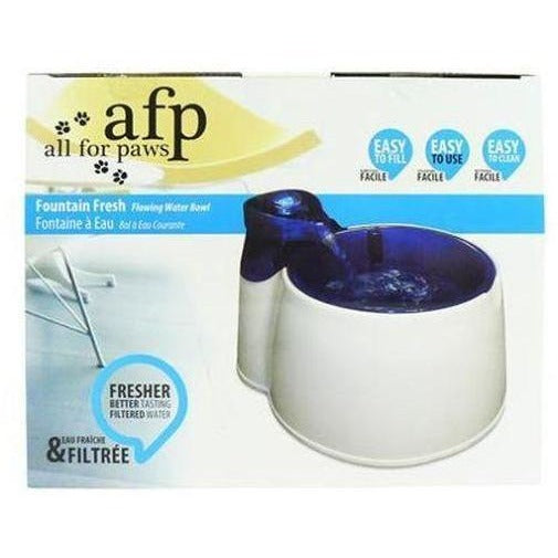 All for Paws Dog Water Fountain 3L, Dog drinking bowl, All for Paws - Need Not Lift A Paw Limited