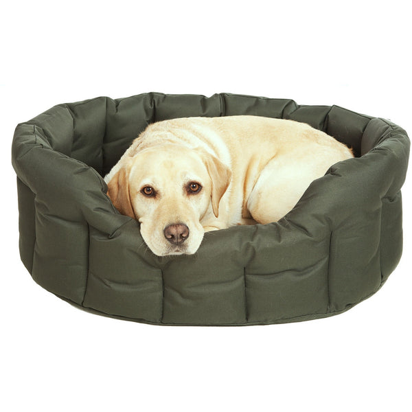 Country Dog Heavy Duty Oval Drop Fronted Waterproof Softee Dog Bed, Dog bed, Pets & Leisure, Need Not Lift A Paw Limited