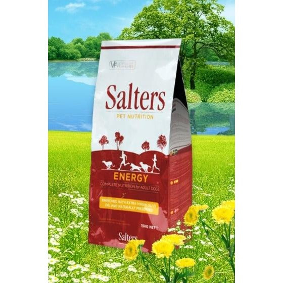 Salters Energy Dog Food, Dog food, Salters Pet Nutrition, Need Not Lift A Paw Limited